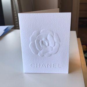 Authentic Chanel receipt holder